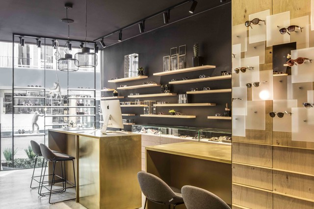 Monocle , a unique eyewear boutique — Pinkeye #pinkeyedesign