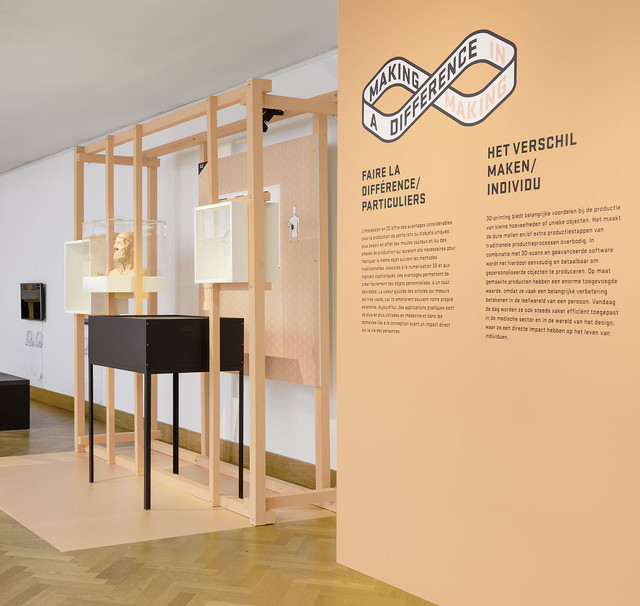 Exposition design: MAKING A DIFFERENCE / A DIFFERENCE IN MAKING at Bozar — Pinkeye #pinkeyedesign