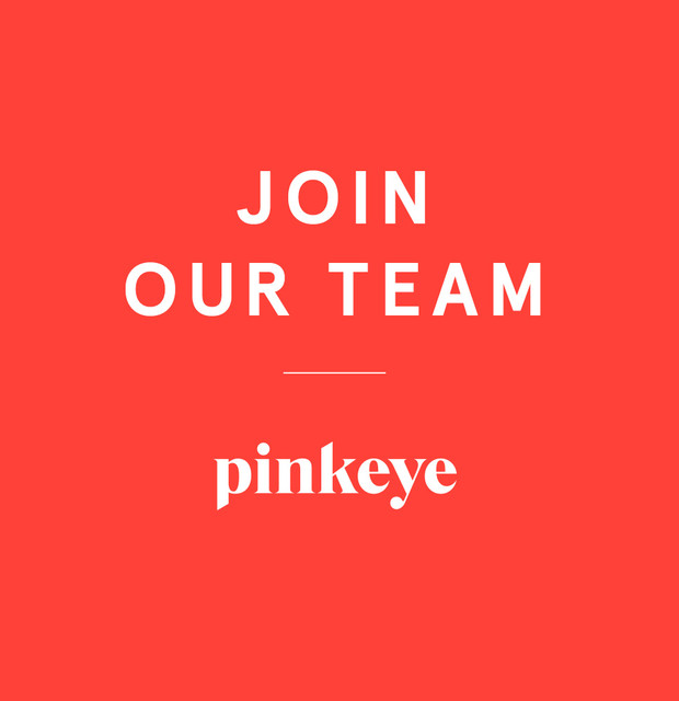 People, more people ! — Pinkeye #pinkeyedesign
