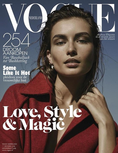 Wouters & Hendrix on the cover of the Dutch Vogue