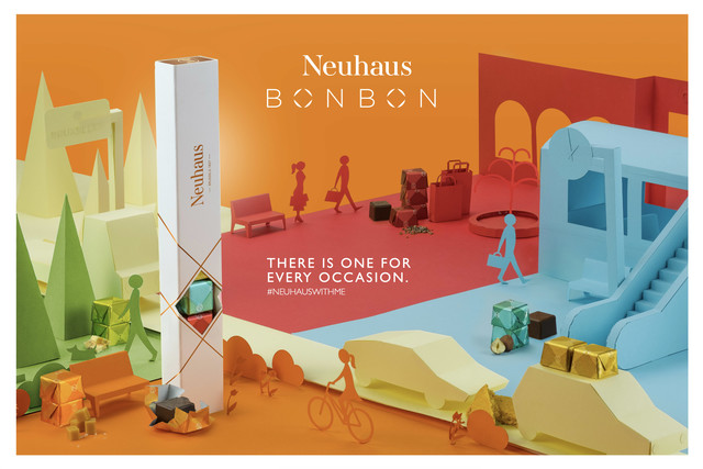 Neuhaus Bonbons, anytime & any place — Pinkeye #pinkeyedesign