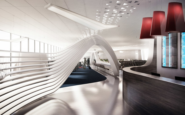 Pinkeye's ideal airport lounge — Pinkeye #pinkeyedesign