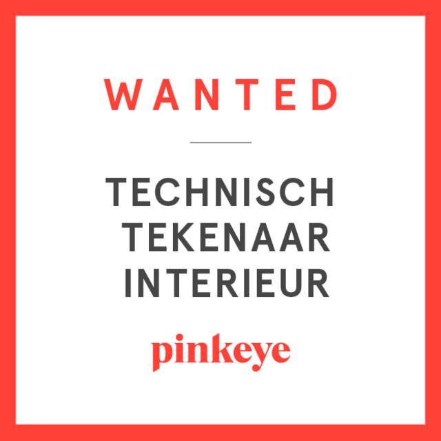 In search of new colleagues — Pinkeye #pinkeyedesign