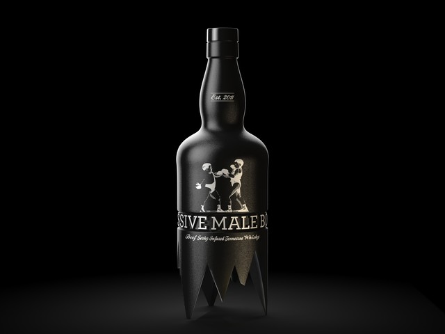Agressive Male Bonding bottle design — Pinkeye #pinkeyedesign