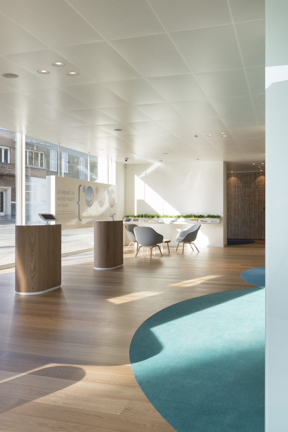 Triodos Banku0027s First Physical Branch | Work | Pinkeye Designstudio  #pinkeyedesign