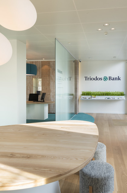 Triodos Bank's first physical branch — Pinkeye #pinkeyedesign