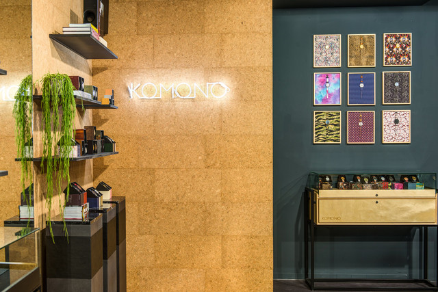 KOMONO pop-up store by YOUR — Pinkeye #pinkeyedesign
