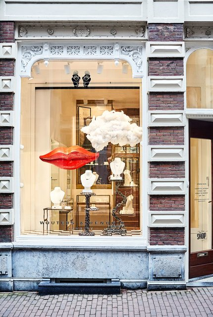 Discover our first international flagship store in Amsterdam