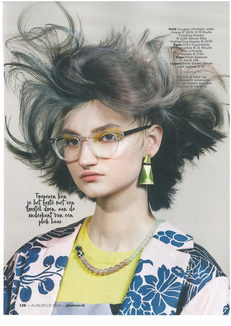 Wouters & Hendrix Jewelry spotted in Glamour august 2016