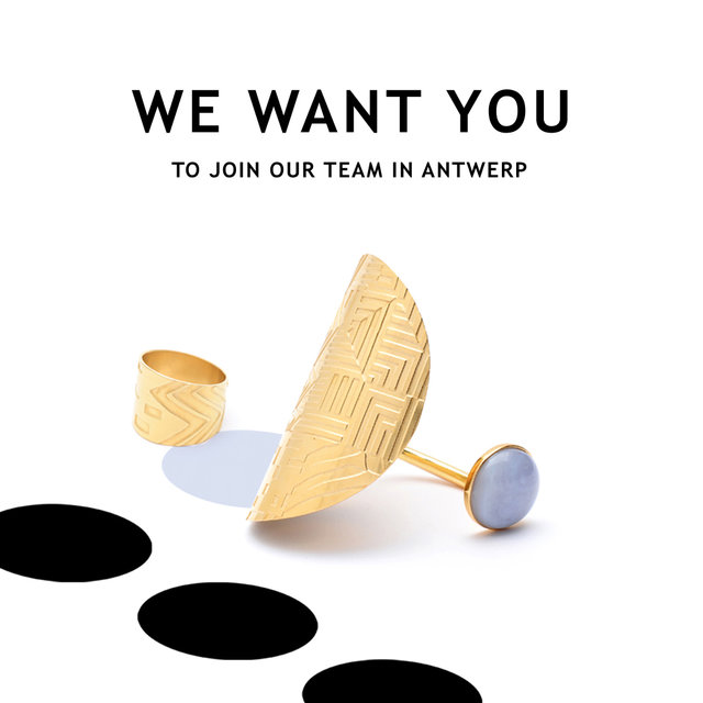 WE WANT YOU TO JOIN OUR TEAM IN ANTWERP