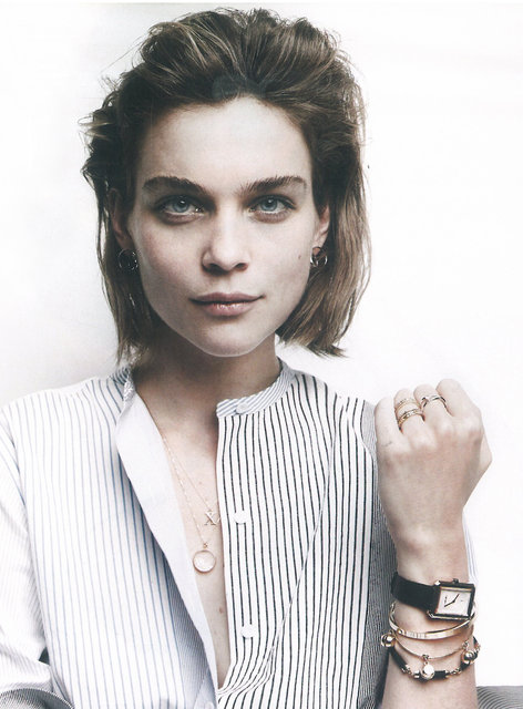 Wouters & Hendrix jewelry spotted in Vogue April 2016